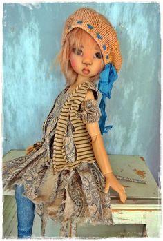 JazzyFran OOAK Handmade Kaye Wiggs MSD BJD Outfit