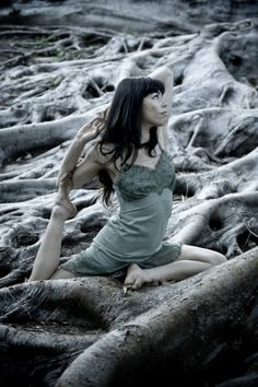 Beautiful - to do yoga in nature would have to be so restorative, nurturing, calming