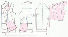 Plantillas de moda para Medida: TRANSFORMACIÓN DE BLUSA - 10