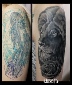 Cover Up Tattoos For Men, Tattoos For Guys, Tattoo Cover Sleeve, Sleeve Tattoos, Old Tattoos, Body Art Tattoos, Tattoo Collection, Tattoo Apprenticeship, Black Cover Up