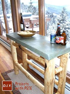 Concrete Tables 101 - Get creative, the possibilities are limitless!