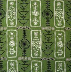 Image of 1950s Atomic Grafton Fabric
