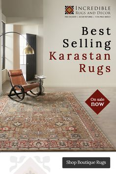 We are a third generation Rug Retailer who prides itself in offering the most current and up-to-date selection of quality rugs and home decor at competitive pricing.