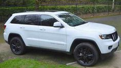 2013 Jeep Grand Cherokee Altitude V8 4X4, as of April 2013, the only white one in Oregon! Was $43,470 MSRP, now $38,000 with 545 miles on it. SWEET!