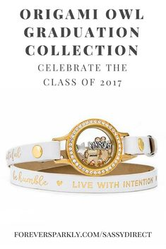 Take a peek at the Origami Owl Graduation Collection for 2017! Celebrate the special grad in your life with Origami Owl. Living Lockets, Bracelets, and Bangles. These complete sets are perfect for your grad and class of 2017! Email kristy@foreversparkly.c