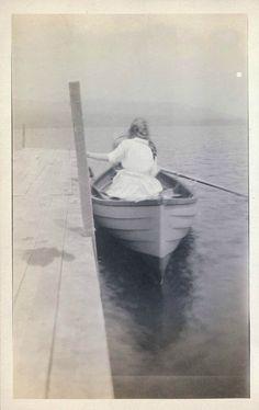 'Leaving'. ca. 1915