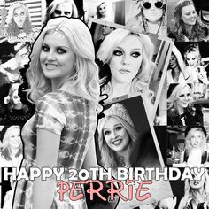 Happy birthday to the beautiful and talented  Perrie Louise Edwards!!  You are so inspiring! Thank you for being a role model! Have a good one Perrbear! Lots of love! Xx