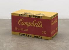 Campbell's Tomato Juice Box Andy Warhol, 1964