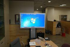 가락동 푸드디스커버리에 설치한 55인치 LED 스마트 전자칠판입니다. http://smart-touch.biz/shop/main/index.php
