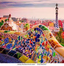 Resultado de imagem para barcelona park guell