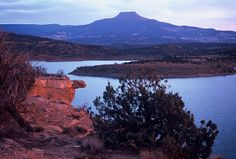The Pedernal: Abiquiu Reservoir, New Mexico (NM) Travel New Mexico, New Mexico Usa, Hispanic American, Beautiful Places, Beautiful Pictures, Land Of Enchantment, View Image, National Parks, Adventure