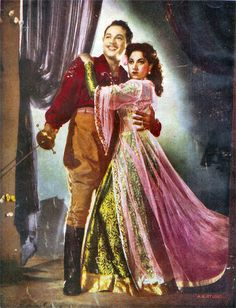 Suraiya was a singer and actress of the Indian films in the 40s and 50s - wiki