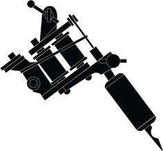 Gallery For > Tattoo Machine Drawing Vector