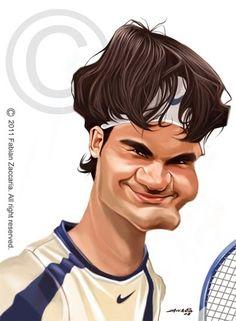 (*) Roger Federer