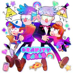 Gravity Falls, by Pixiv Id 163347 Dipper Y Mabel, Stanley Pines, Primary Activities, Fall Images, Math Lesson Plans, Cartoon Gifs, Cartoon Art, Reverse Falls, Graffiti Murals