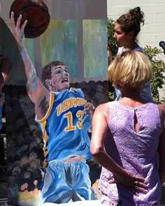 Quinn Keast Mural: Handsworth Secondary School May 2012. Continuing to inspire students - No Regrets!