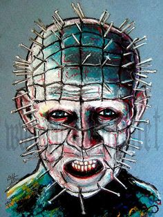 Hey, I found this really awesome Etsy listing at https://www.etsy.com/listing/98700540/print-8x10-pinhead-hellraiser-cenobite