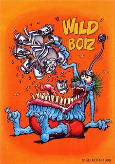 rat fink ed big daddy roth wild boiz Car Drawings, Cartoon Drawings, Ed Roth Art, Cartoon Rat, Retro, Rat Fink, Garage Art, Big Daddy, Monster Art