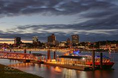 Port of Hamburg by SaWagner1. @go4fotos