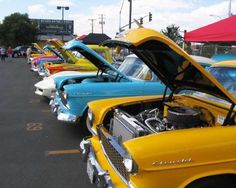 NEVADA  Rock 'n' roll and classic cars join forces for Hot August Nights, a 10-day fest Aug. 4-13 in the Western Nevada cities of Reno, Sparks, and Virginia City. The event features a car auction, car shows, a swap meet, vehicle competitions, and bands performing music from the '50s, '60s, '70s, and '80s.