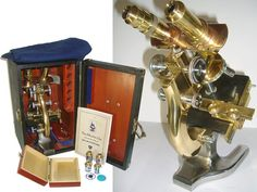 INCREDIBLE SPENCER Antique Binocular by MisterMicroscope on Etsy