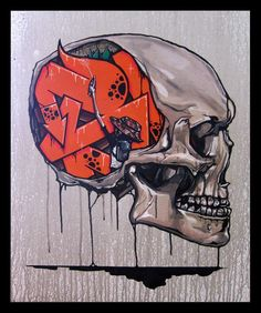 Graffiti - Artist: John Kaye  Cozmo     PS accurate representation of my brain