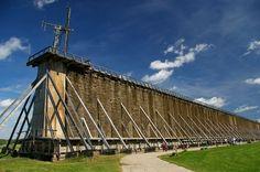 Ciechocinek - największe tężnie w Europie
