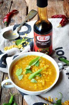Tao Tao - Zupa z soczewicy TaoTao - orientalne przepisy kulinarne Tao Tao, Curry, Ethnic Recipes, Food, Kalay, Curries, Meals