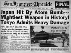 Newspaper headlines on August 7, 1945, revealed to the Bay Area public for the first time that the laboratory had played a crucial role in the war effort.