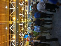 Exhibits as far as the eye can see at WEFTEC 2012 in NOLA!