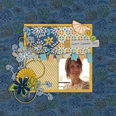 Layout by Sula. Supplies: Easy Breezy by Crisdam Designs