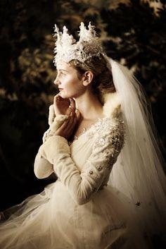 Une couronne pour un mariage féerique