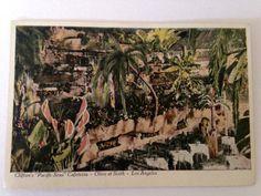 """Vintage Clifton's """"Pacific Seas"""" Cafeteria Los Angeles Tourist Photo Postcard Set. ◅. ▻"""