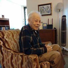 Grandpa Eli chillin'.