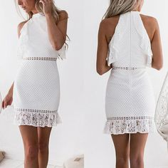 DRESSES – Page 13 – jojochili 15 Dresses, Sexy Dresses, Summer Dresses, Types Of Fashion Styles, Dress Brands, White Lace, Casual Outfits, Casual Clothes, Mini