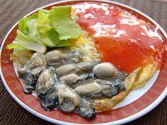 蚵仔煎 oyster omelet #Taiwan