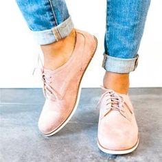 9eed22e57db2e7 Plus Size Comfort Pinhole Slip-on Loafers Non-slip Flat Shoes – Mollyca  Jordan