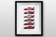 NSX Motorsports Legends Prints