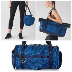 NWT Lululemon Run Ways Duffel NWT Lululemon Run Ways Duffel. Brand new and in perfect condition! Priced to reflect taxes and posh fees. Check out my Ⓜ️ for better pricing. No trades, no PayPal, but I do 10% discounts on bundles of 3+ items. Feel free to ask questions  lululemon athletica Bags