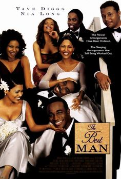 Directed by Malcolm D. With Taye Diggs, Nia Long, Morris Chestnut, Harold Perrineau. Just before best friend's wedding, the life of Chicago writer becomes crazy when the friend guesses that new book's story based on his bride's fervent past. Iconic Movies, Old Movies, Classic Movies, Great Movies, 1990s Movies, Netflix Movies, Movies Online, Movie Wedding Dresses, Wedding Movies