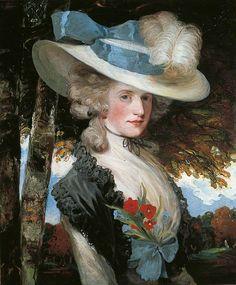 John Hoppner, The Honourable Elizabeth Ingram (later Mrs Hugo Meynell), c.1789. Oil on canvas. Leeds Museums and Galleries.