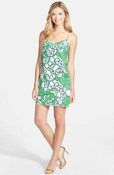 Lilly Pulitzer® 'Dusk' Print Silk Slipdress available at #Nordstrom
