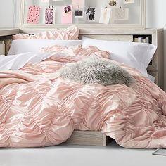 Whimsical Waves Comforter & Sham #pbteen Room Ideas Bedroom, Dream Bedroom, Room Decor, Dorm Comforters, Bedspreads, Teen Girl Bedding, Teen Bedding Sets, Twin Xl Comforter, College Comforter