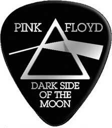 Rock out in black and white with these Pink Floyd Dark Side of the Moon Guitar Picks 12pack.
