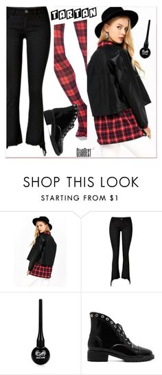 """""""tartan"""" by paculi ❤ liked on Polyvore featuring polyvoreeditorial, lkid and gearbest"""