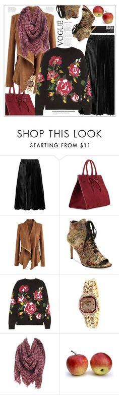 """Woman fashion"" by delfinadominguez ❤ liked on Polyvore featuring Comme des Garçons GIRL, Mansur Gavriel, Chicwish, Nanette Lepore, Dolce&Gabbana and Patek Philippe"