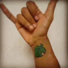 Animal Crossing Tattoo