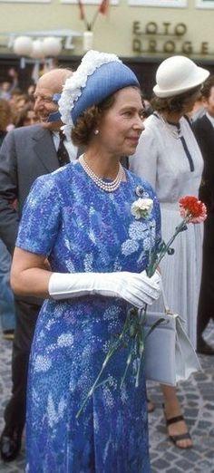 Queen Elizabeth in Deutschland: 1978