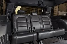 2018 Lincoln Navigator - There are plenty of three-row SUVs out there, but the Navigator is a TRUE eight-passenger hauler. Adults won't feel cramped in the third row.