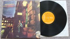 DAVID BOWIE Ziggy Stardust vinyl LP album record NO Mainman logo 1E / 2E Matrix